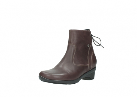 wolky ankle boots 07658 minnesota 10620 mottled metallic burgundy leather_22