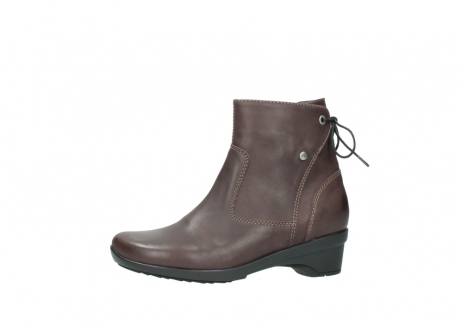 wolky ankle boots 07658 minnesota 10620 mottled metallic burgundy leather_24