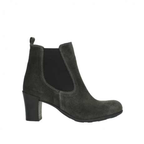 wolky ankle boots 07748 kelly 40210 anthracite oiled suede