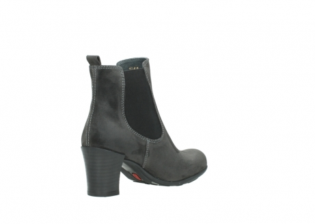 wolky ankle boots 07748 kelly 40210 anthracite oiled suede_10