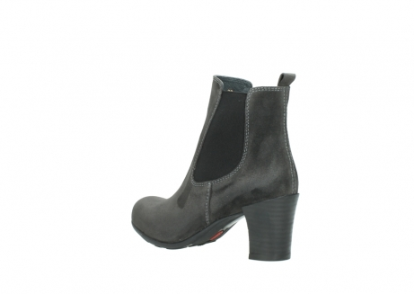 wolky ankle boots 07748 kelly 40210 anthracite oiled suede_4
