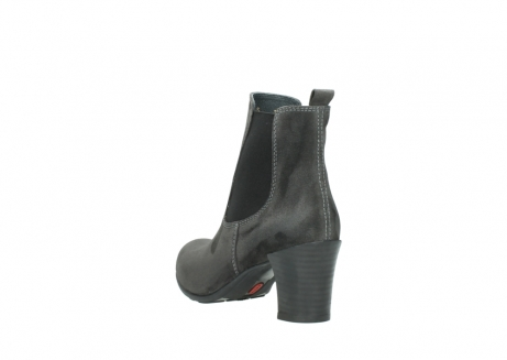 wolky ankle boots 07748 kelly 40210 anthracite oiled suede_5