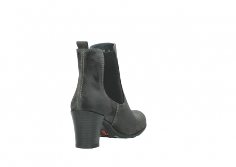 wolky ankle boots 07748 kelly 40210 anthracite oiled suede_9