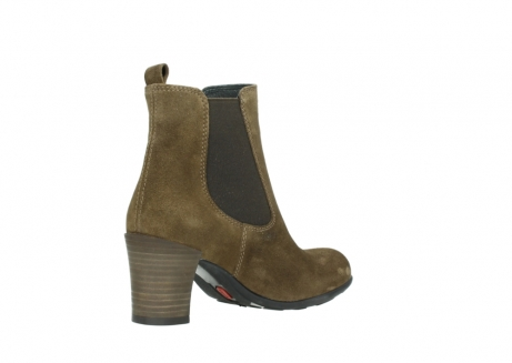 wolky ankle boots 07748 kelly 40310 mid brown oiled suede_10