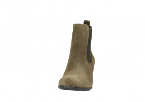 wolky ankle boots 07748 kelly 40310 mid brown oiled suede_20