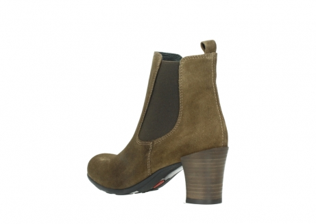 wolky ankle boots 07748 kelly 40310 mid brown oiled suede_4