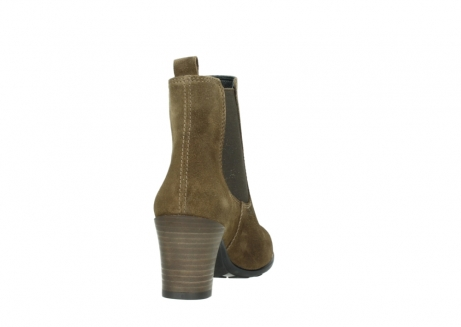 wolky ankle boots 07748 kelly 40310 mid brown oiled suede_8