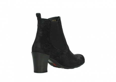 wolky ankle boots 07748 kelly 90002 black iliade leather_10