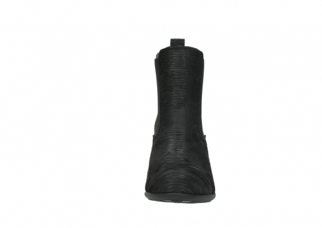 wolky ankle boots 07748 kelly 90002 black iliade leather_19