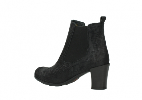 wolky ankle boots 07748 kelly 90002 black iliade leather_3
