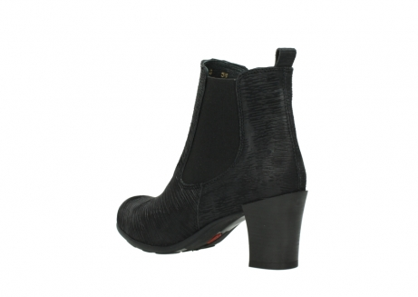 wolky ankle boots 07748 kelly 90002 black iliade leather_4