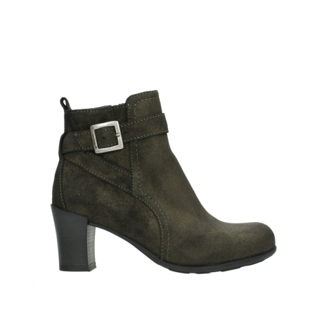 wolky ankle boots 07749 raquel 48320 bronze suede