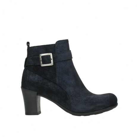 wolky ankle boots 07749 raquel 48800 blue suede