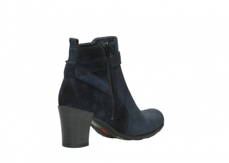 wolky ankle boots 07749 raquel 48800 blue suede_10