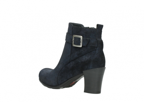 wolky ankle boots 07749 raquel 48800 blue suede_4