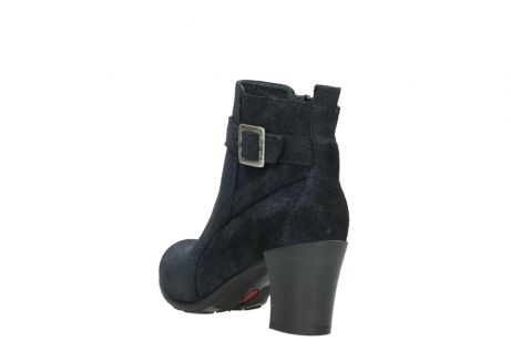 wolky ankle boots 07749 raquel 48800 blue suede_5