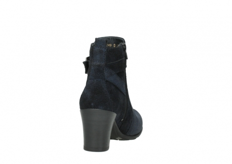 wolky ankle boots 07749 raquel 48800 blue suede_8