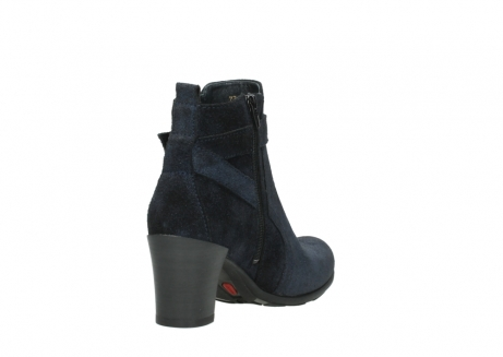 wolky ankle boots 07749 raquel 48800 blue suede_9