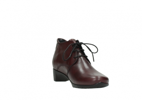 wolky ankle boots 07821 zircon 20510 bordeaux leather_17