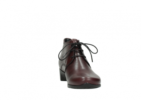 wolky ankle boots 07821 zircon 20510 bordeaux leather_18