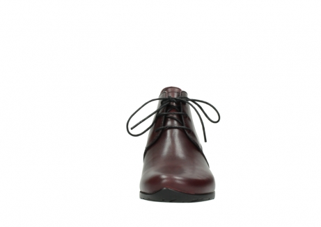 wolky ankle boots 07821 zircon 20510 bordeaux leather_19