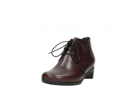 wolky ankle boots 07821 zircon 20510 bordeaux leather_21