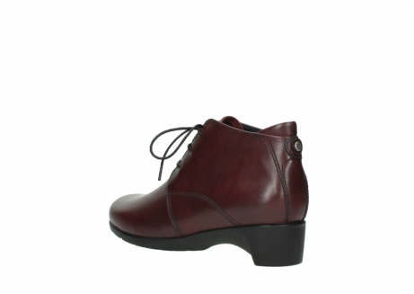 wolky ankle boots 07821 zircon 20510 bordeaux leather_4