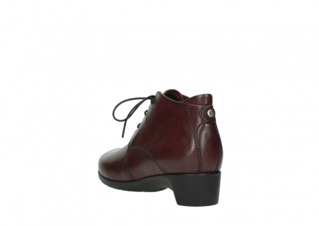 wolky ankle boots 07821 zircon 20510 bordeaux leather_5
