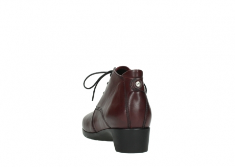 wolky ankle boots 07821 zircon 20510 bordeaux leather_6