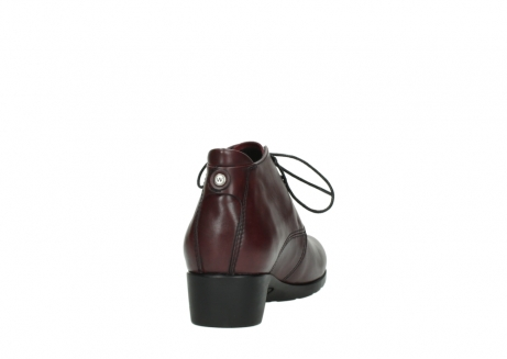 wolky ankle boots 07821 zircon 20510 bordeaux leather_8