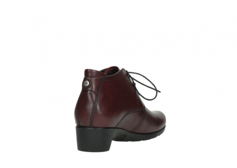wolky ankle boots 07821 zircon 20510 bordeaux leather_9