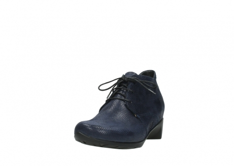 wolky ankle boots 07821 zircon 71800 blue leather_21