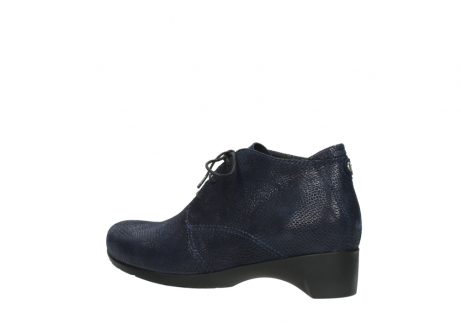 wolky ankle boots 07821 zircon 71800 blue leather_3