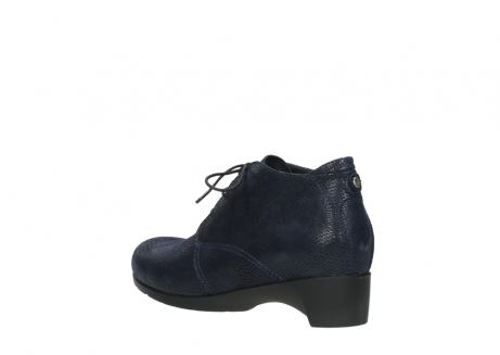 wolky ankle boots 07821 zircon 71800 blue leather_4