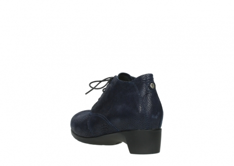 wolky ankle boots 07821 zircon 71800 blue leather_5