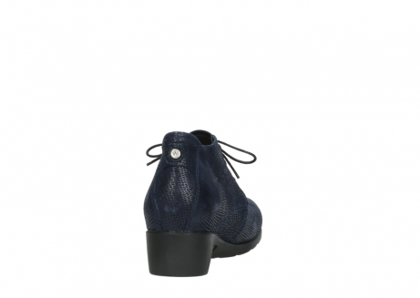 wolky ankle boots 07821 zircon 71800 blue leather_8