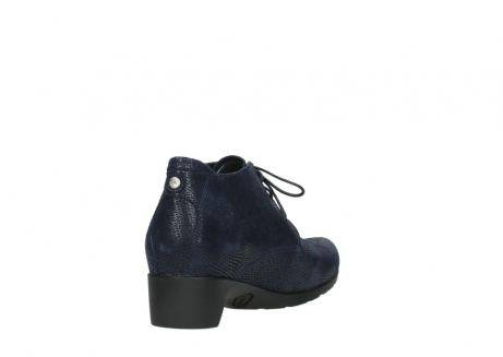 wolky ankle boots 07821 zircon 71800 blue leather_9