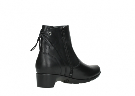 wolky ankle boots 07822 beryl 20000 black leather_10