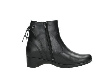 wolky ankle boots 07822 beryl 20000 black leather_13