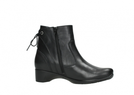 wolky ankle boots 07822 beryl 20000 black leather_14