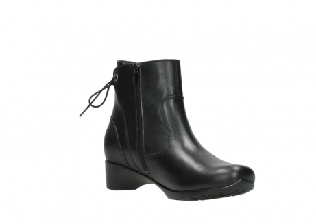 wolky ankle boots 07822 beryl 20000 black leather_16