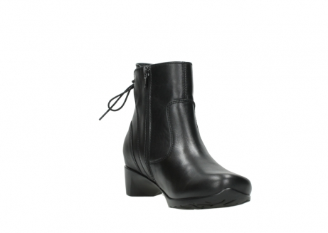 wolky ankle boots 07822 beryl 20000 black leather_17