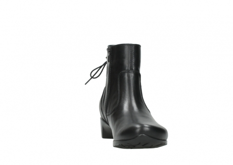wolky ankle boots 07822 beryl 20000 black leather_18