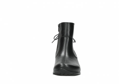wolky ankle boots 07822 beryl 20000 black leather_19