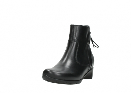 wolky ankle boots 07822 beryl 20000 black leather_21
