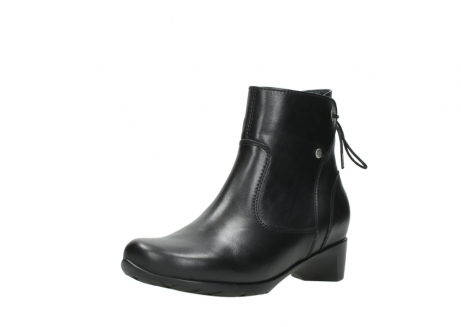 wolky ankle boots 07822 beryl 20000 black leather_22