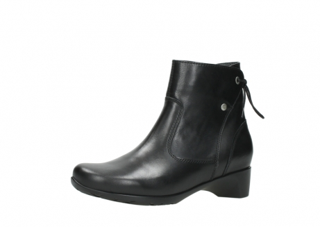 wolky ankle boots 07822 beryl 20000 black leather_23