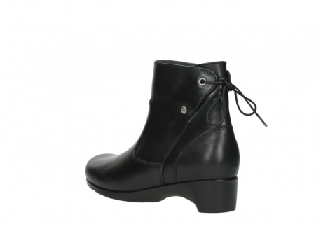 wolky ankle boots 07822 beryl 20000 black leather_4