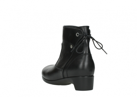 wolky ankle boots 07822 beryl 20000 black leather_5