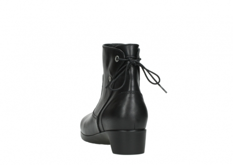 wolky ankle boots 07822 beryl 20000 black leather_6